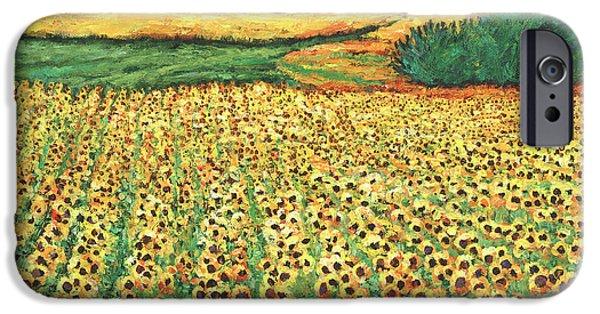 Sunflower iPhone 6s Case - Sunburst by Johnathan Harris