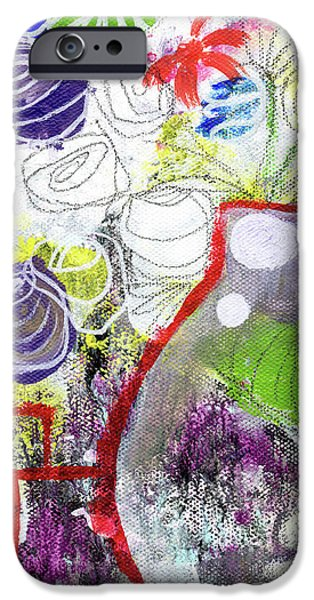 Sunday Market Flowers 3- Art By Linda Woods IPhone 6s Case