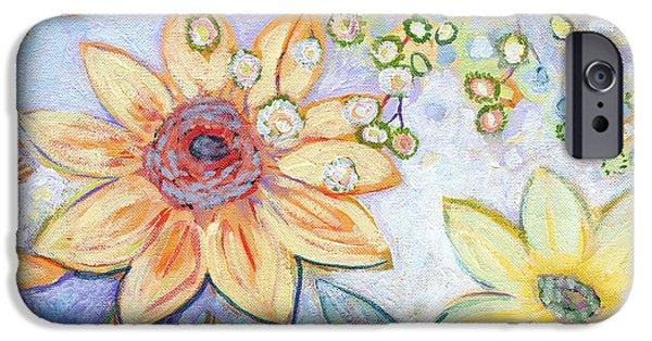Sunflower iPhone 6s Case - Sunflower Tropics Part 2 by Jennifer Lommers