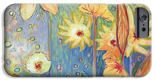 Sunflower iPhone 6s Case - Sunflower Tropics Part 3 by Jennifer Lommers