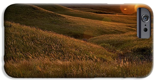 Rural Scenes iPhone 6s Case - Sunset Over The Kansas Prairie by Jim Richardson