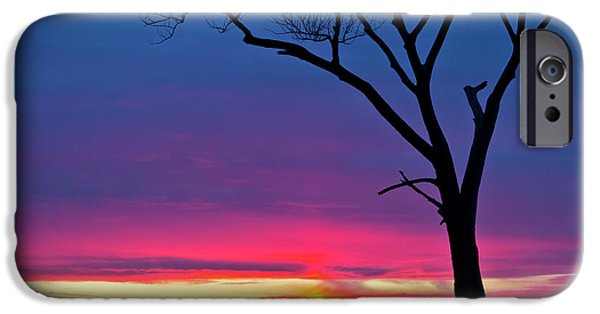 Sunset Sundog  IPhone 6s Case by Ricky L Jones