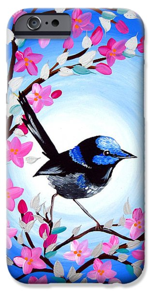 Superb Fairy Wren IPhone 6s Case by Cathy Jacobs
