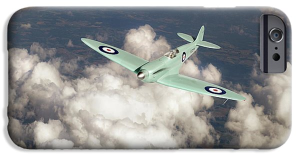 IPhone 6s Case featuring the photograph Supermarine Spitfire Prototype K5054 by Gary Eason