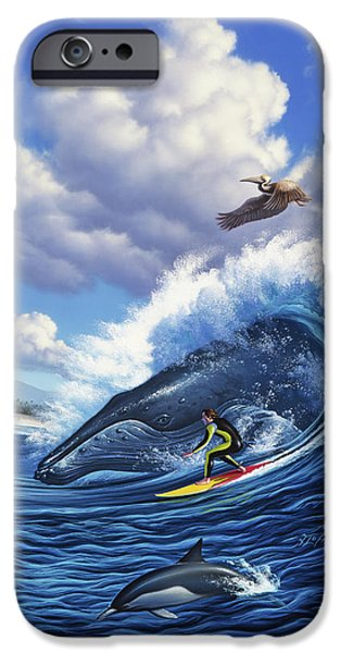 Pelican iPhone 6s Case - Surf's Up by Jerry LoFaro