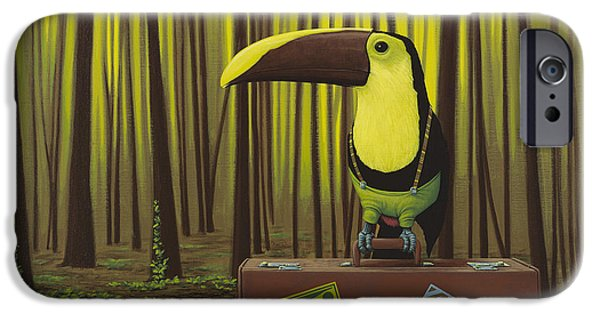Toucan iPhone 6s Case - Suspenders by Jasper Oostland