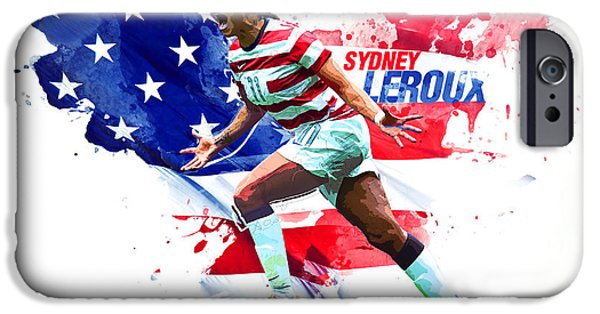 Sydney Leroux IPhone 6s Case by Semih Yurdabak