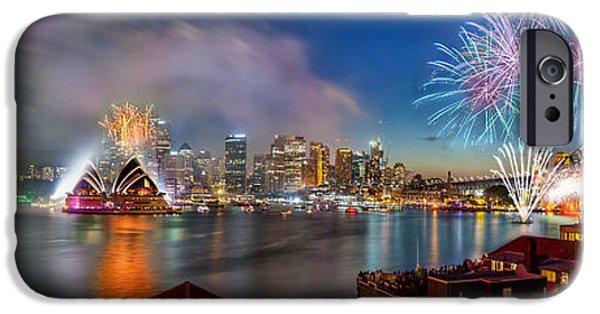 Sydney Sparkles IPhone 6s Case by Az Jackson