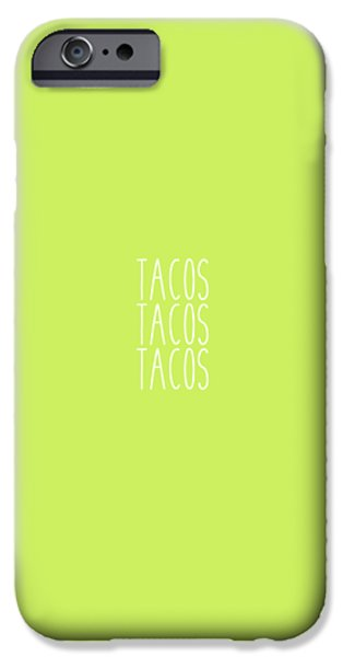 Tacos IPhone 6s Case by Cortney Herron