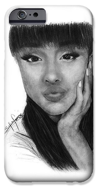 Ariana Grande Drawing By Sofia Furniel IPhone 6s Case