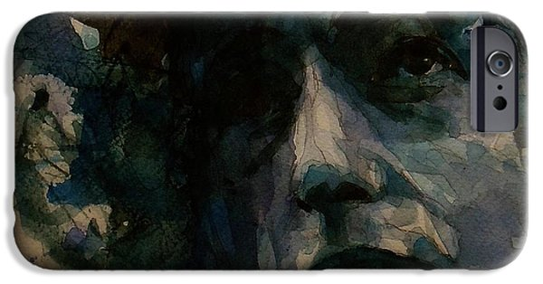Tagged Up In Blue- Bob Dylan  IPhone 6s Case