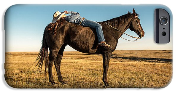 Horse iPhone 6s Case - Taking A Snooze by Todd Klassy