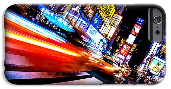 Taxis In Times Square IPhone 6s Case by Az Jackson