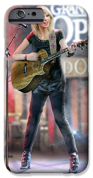Taylor At The Opry IPhone 6s Case by Don Olea