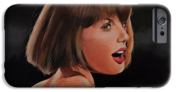Taylor Swift IPhone 6s Case by Bill Dunkley