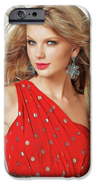 Taylor Swift IPhone 6s Case by Twinkle Mehta