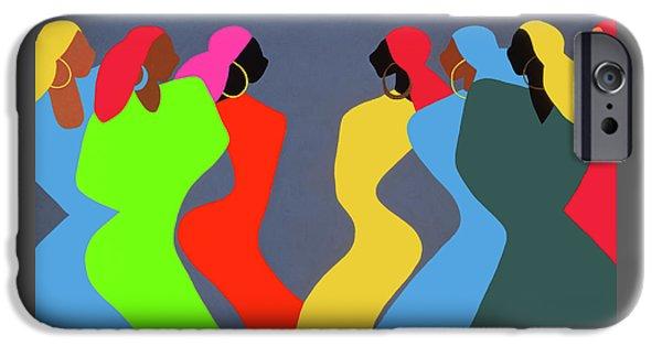 iPhone 6s Case - Tchokola by Synthia SAINT JAMES