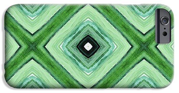 Tea Garden- Art By Linda Woods IPhone 6s Case by Linda Woods