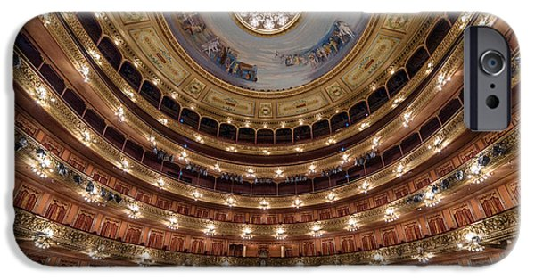 Teatro Colon Performers View IPhone 6s Case