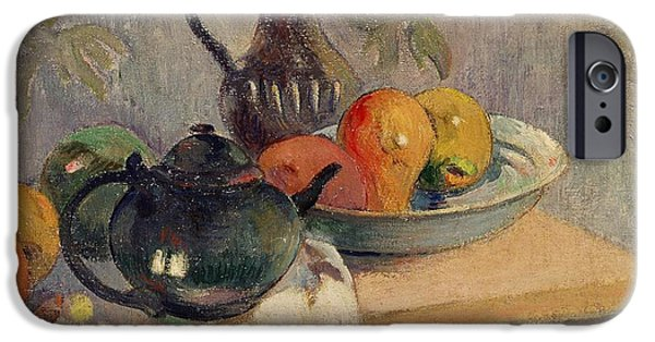 Teiera Brocca E Frutta IPhone 6s Case by Paul Gauguin