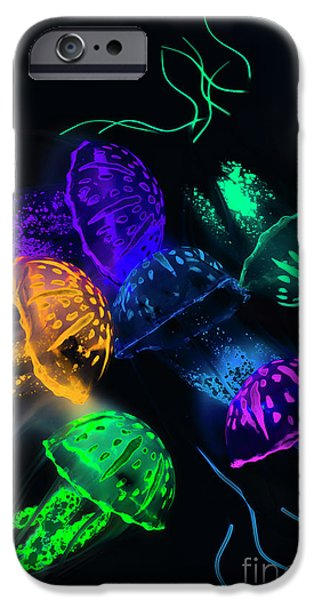 Aquarium iPhone 6s Case - Tentacle Dance  by Jorgo Photography - Wall Art Gallery