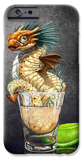 Dragon iPhone 6s Case - Tequila Wyrm by Stanley Morrison