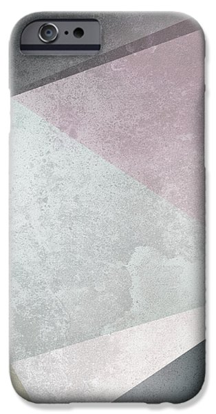 Flowers iPhone 6s Case - Textured Geometric Triangles by Pati Photography