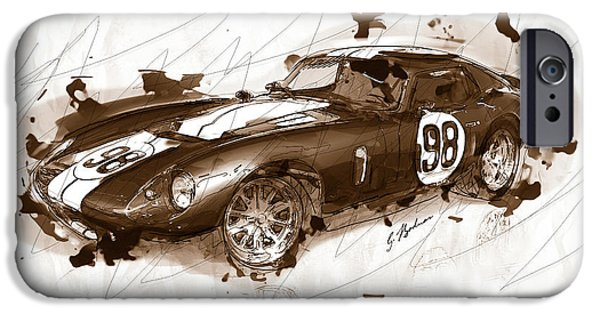 The 1965 Ford Cobra Mustang IPhone 6s Case