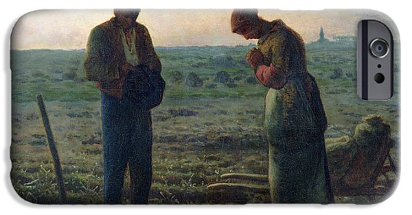 The Angelus IPhone 6s Case by Jean-Francois Millet