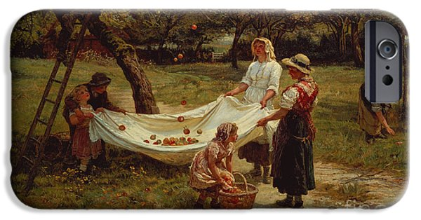 The Apple Gatherers IPhone 6s Case by Frederick Morgan