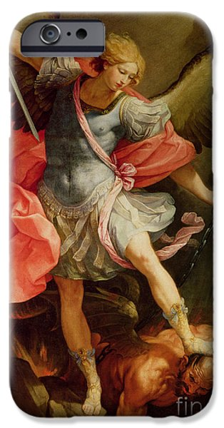 The Archangel Michael Defeating Satan IPhone 6s Case