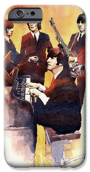 Musicians iPhone 6s Case - The Beatles 01 by Yuriy Shevchuk
