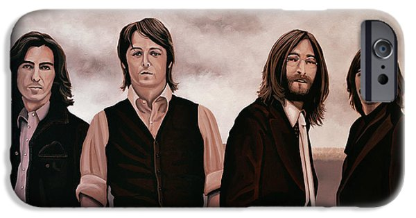 Rock And Roll iPhone 6s Case - The Beatles 3 by Paul Meijering
