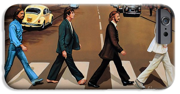 The Beatles Abbey Road IPhone 6s Case by Paul Meijering