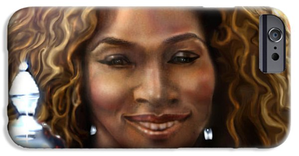 Serena Williams iPhone 6s Case - The Beauty Victory That Is Serena by Reggie Duffie