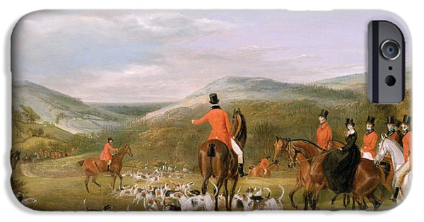 Rural Scenes iPhone 6s Case - The Berkeley Hunt by Francis Calcraft Turner