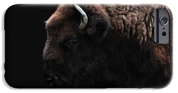 The Bison IPhone 6s Case by Joachim G Pinkawa