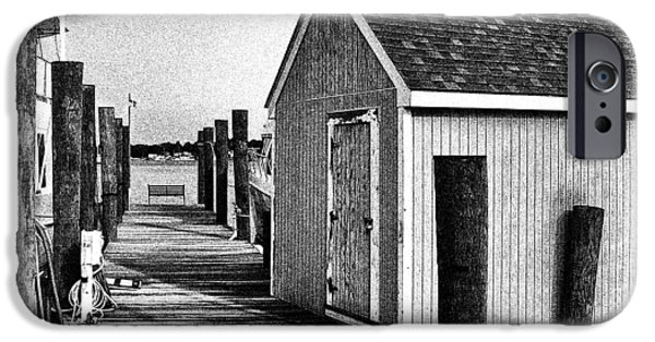 The Boat Shed IPhone Case by Brian Wallace
