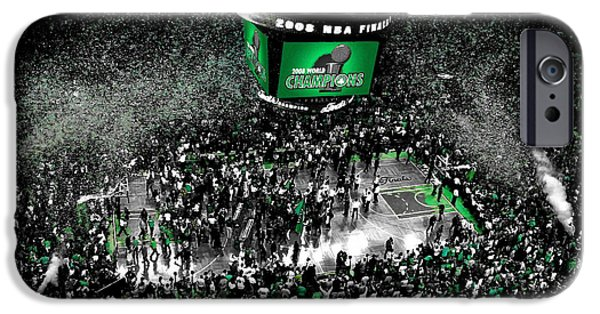 The Boston Celtics 2008 Nba Finals IPhone 6s Case by Brian Reaves
