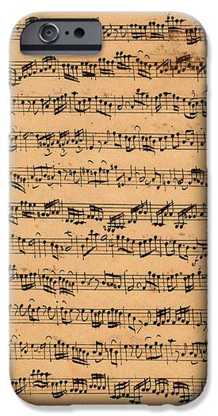 Music iPhone 6s Case - The Brandenburger Concertos by Johann Sebastian Bach