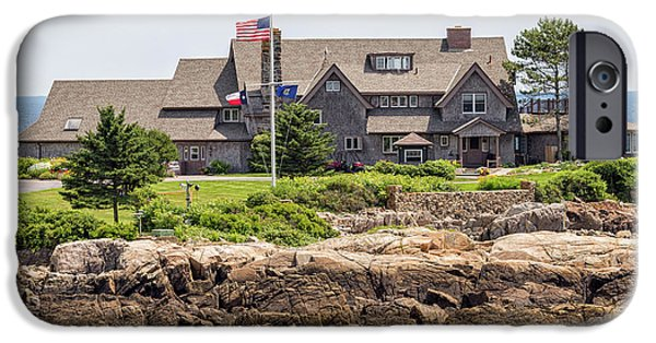 The Bush Compound Kennebunkport Maine IPhone 6s Case by Brian MacLean