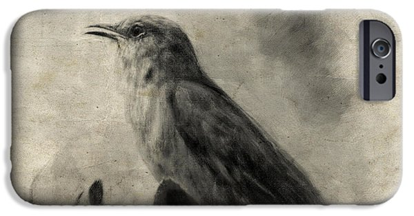 The Call Of The Mockingbird IPhone 6s Case by Jai Johnson