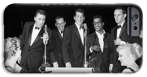 The Cast Of Ocean's 11 And Members Of The Rat Pack. IPhone 6s Case by The Titanic Project