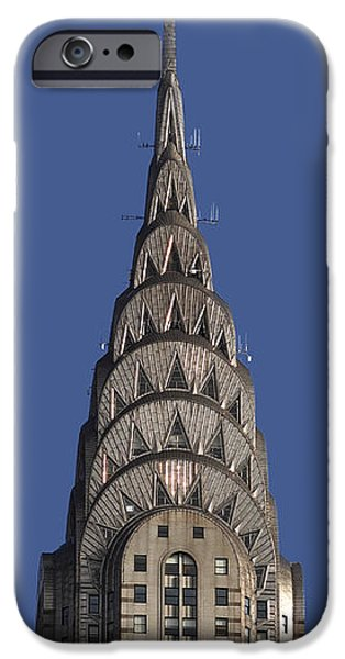 The Chrysler Building - Deco Detail IPhone 6s Case by Rona Black