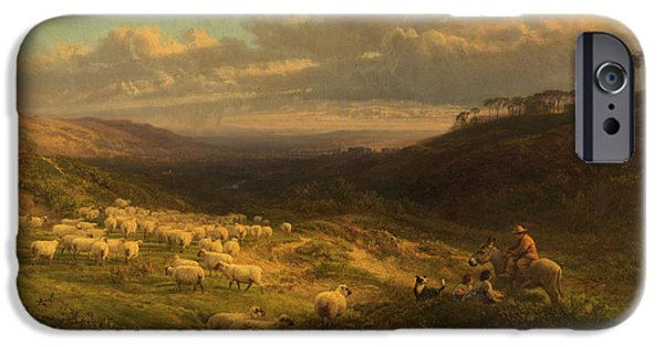 The Closing Day, Scene In Sussex IPhone 6s Case by George Vicat Cole