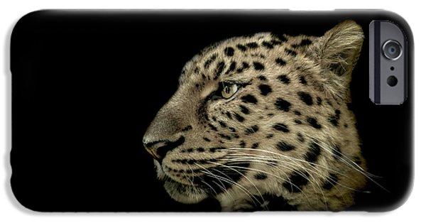 Leopard iPhone 6s Case - The Defendant by Paul Neville