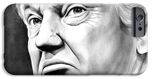 Pencil iPhone 6s Case - The Donald by Greg Joens