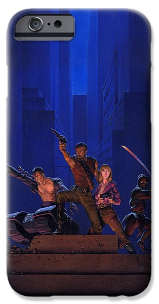 Aliens iPhone 6s Case - The Eliminators by Richard Hescox