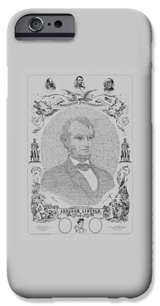 The Emancipation Proclamation IPhone 6s Case by War Is Hell Store