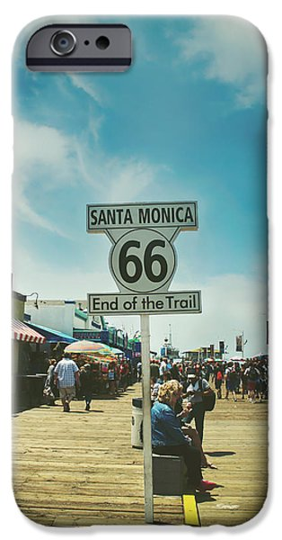 Santa Monica iPhone 6s Case - The End Of Sixty-six by Laurie Search